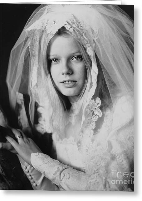 Dantzler Photo Art For Sale Greeting Cards - The Bridal Portrait Greeting Card by Andrew Govan Dantzler