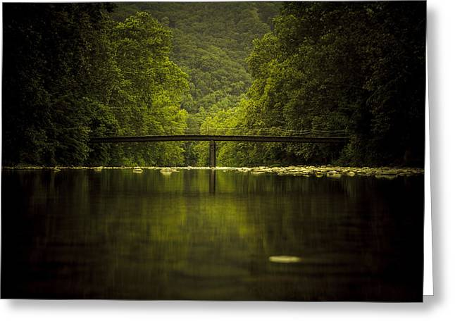 Seneca Greeting Cards - The Bridge Greeting Card by Shane Holsclaw