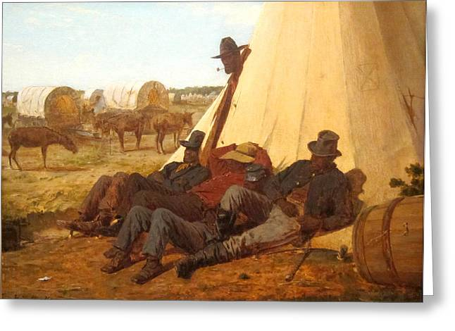 Bright Side Greeting Cards - The Bright Side Greeting Card by Winslow Homer