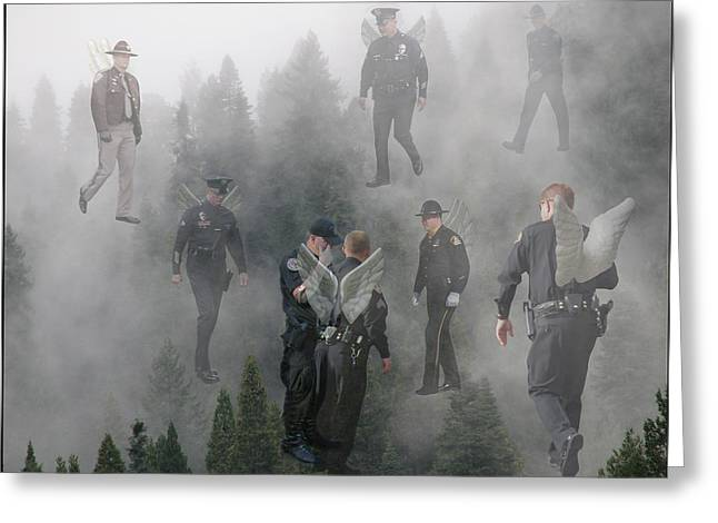 Lydia Miller Greeting Cards - The Brotherhood Greeting Card by Lydia Warner Miller