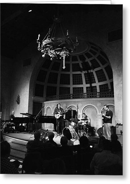 Brubeck Greeting Cards - The Brubeck Brothers Quartet Greeting Card by Robert Klemm