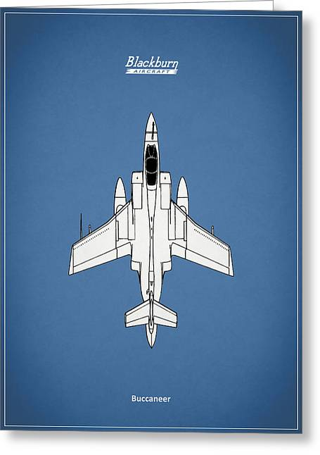 Buccaneer Greeting Cards - The Buccaneer Greeting Card by Mark Rogan