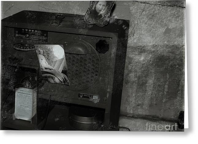 Historical Pictures Digital Art Greeting Cards - The Bunker 1943 Greeting Card by Steven  Digman