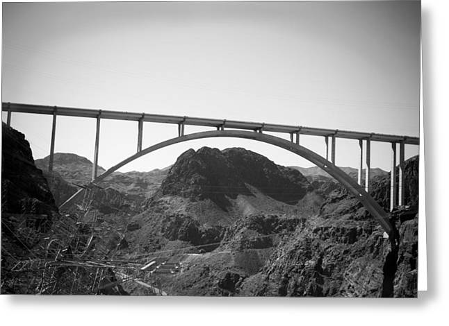 The Bypass Bridge  Greeting Card by Yousif Hadaya