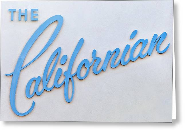 Californian Greeting Cards - The Californian Greeting Card by Art Block Collections
