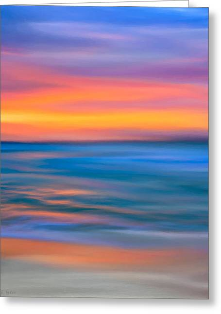 Santa Cruz Digital Greeting Cards - The Call Of Distant Seas Greeting Card by Mark Tisdale