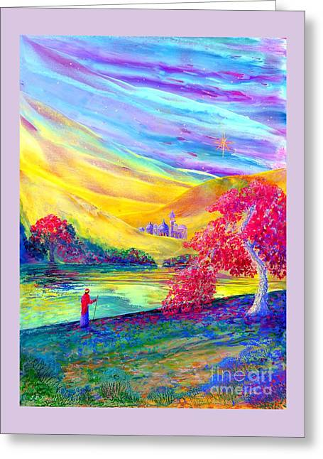 The Calling Greeting Card by Jane Small