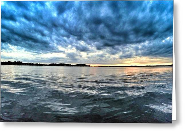 Fishing Tournaments Greeting Cards - The Calm After The Storm Greeting Card by Erik Kaplan
