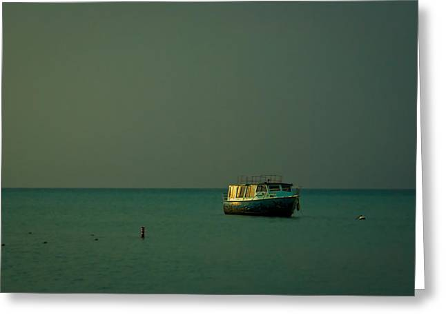 Calm Waters Greeting Cards - The Calm Greeting Card by Ryan Burton