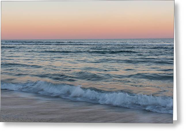 Fun New Art Greeting Cards - The Calming Sea Seaside Park New Jersey Greeting Card by Terry DeLuco
