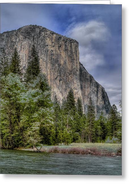 Hdr Landscape Photographs Greeting Cards - The Captain Greeting Card by Bill Gallagher