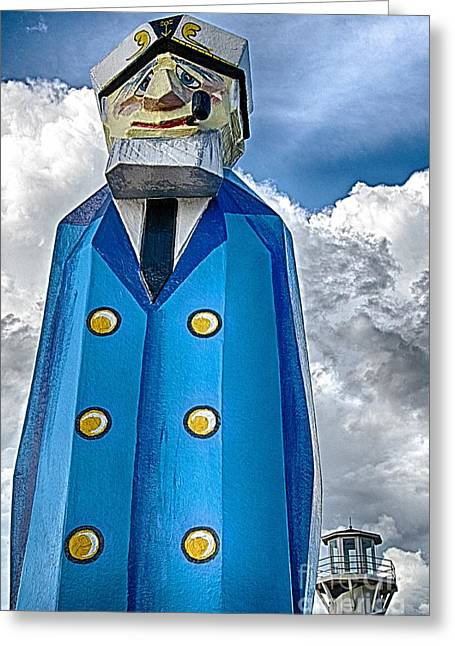 Ken Williams Greeting Cards - The Captain Greeting Card by Ken Williams