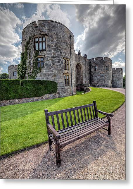 Hdr Landscape Greeting Cards - The Castle Bench Greeting Card by Adrian Evans