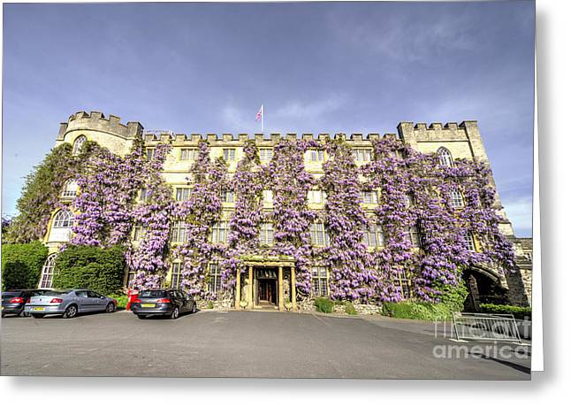 The Castle Hotel  Greeting Card by Rob Hawkins