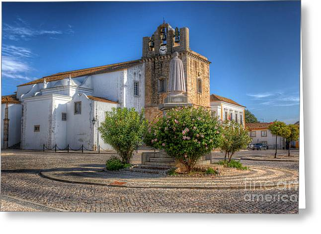 Rio Formosa Greeting Cards - The Cathedral Greeting Card by English Landscapes