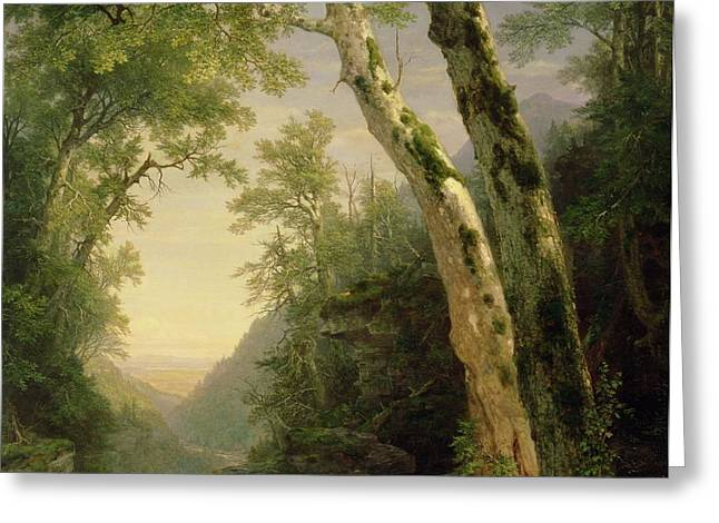 The Catskills Greeting Card by Asher Brown Durand