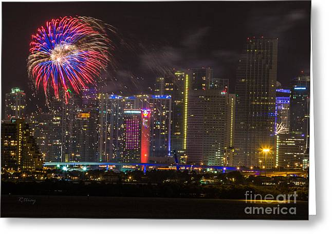 Miami Heat Greeting Cards - The Celebration the Year of the Horse Greeting Card by Rene Triay Photography