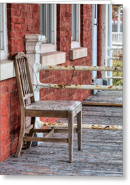 New Thoughts Greeting Cards - The Chair  Greeting Card by JC Findley