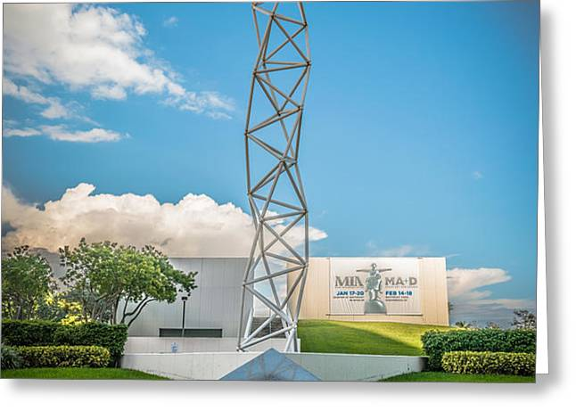 The Challenger Memorial - Bayfront Park - Miami - HDR Style Greeting Card by Ian Monk