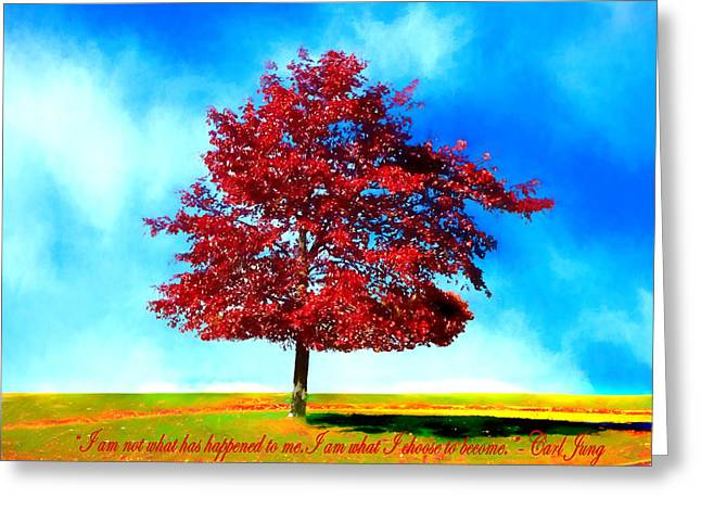 Eternal Inspirational Greeting Cards - The Changeling Greeting Card by Larry Ferreira