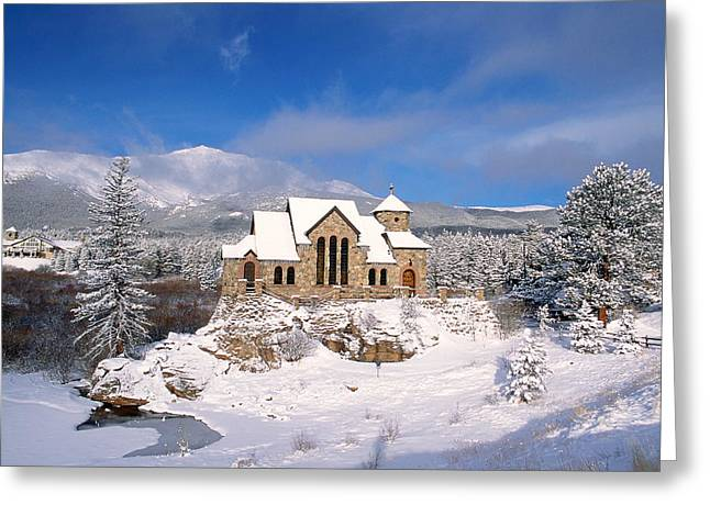 Sienna Greeting Cards - The Chapel on the Rock 3 Greeting Card by Eric Glaser