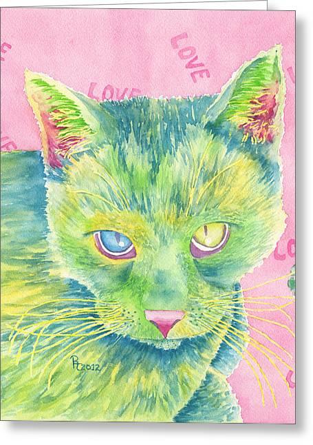 Unrealistic Greeting Cards - The Charmer Greeting Card by Rhonda Leonard