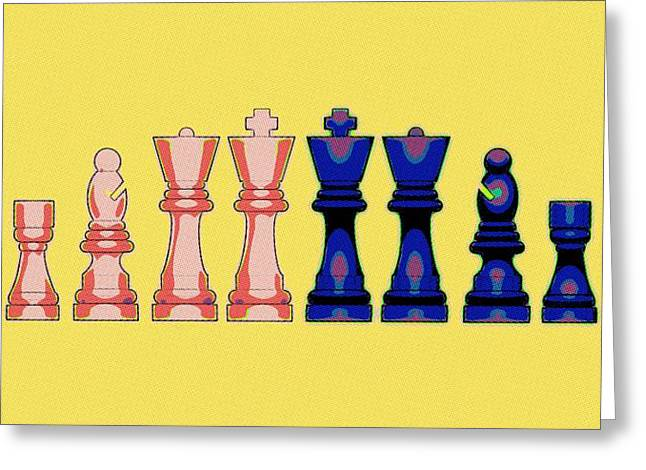 Checkmate Digital Art Greeting Cards - The Checkmate Diaries Greeting Card by Florian Rodarte