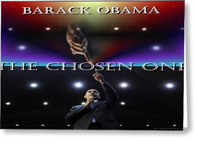 Chosen One Greeting Cards - The Chosen One Greeting Card by Debra MChelle