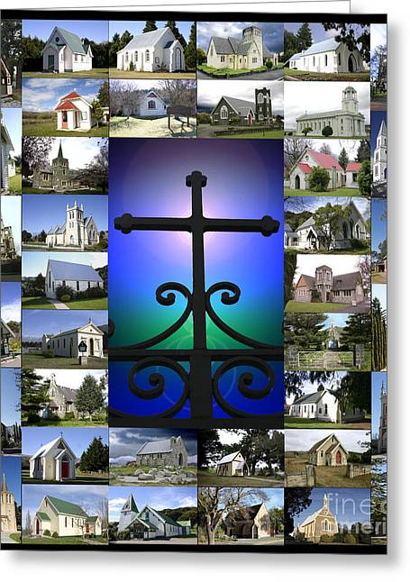 Forgiveness Greeting Cards - The Christian Church Greeting Card by John Wallace