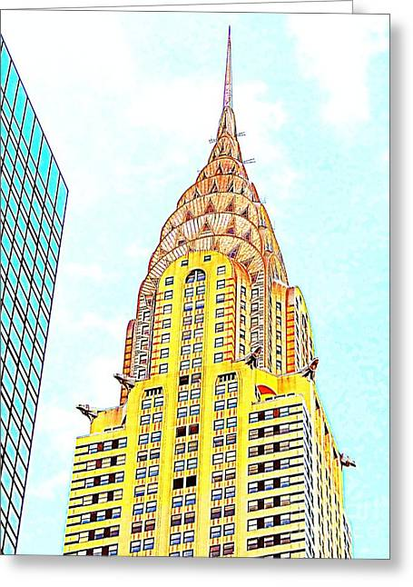 The Chrysler Building Greeting Card by Ed Weidman