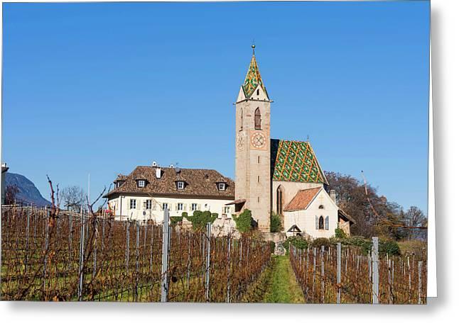 The Church Of Altenburg (castelvecchio Greeting Card by Martin Zwick