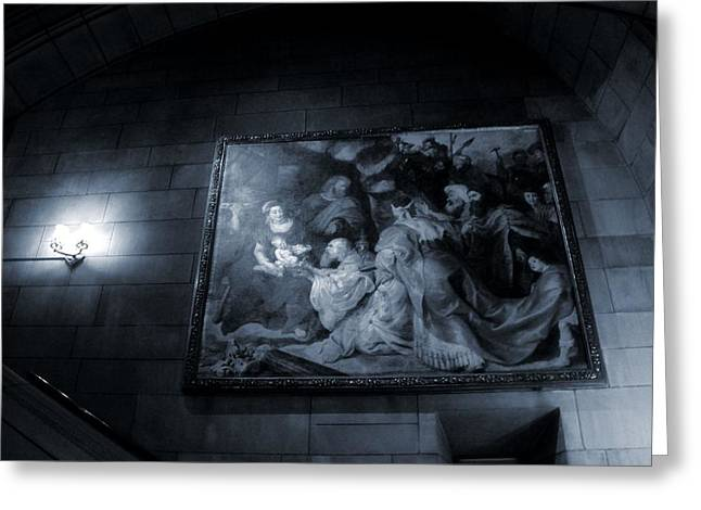 The Church Photographs Greeting Cards - The Church Renaissance Art Greeting Card by Dan Sproul