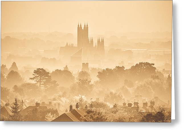 Theatre Photographs Greeting Cards - The City of Canterbury Greeting Card by Ian Hufton