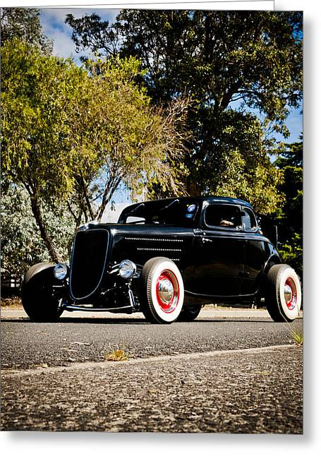 Ford Hotrod Greeting Cards - The Classic Hot Rod Greeting Card by motography aka Phil Clark