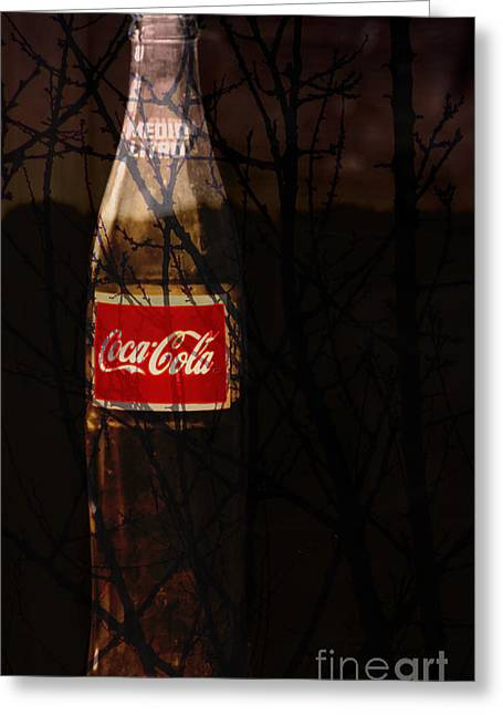 Soda Bottles Greeting Cards - The Classic Greeting Card by Robert Ball