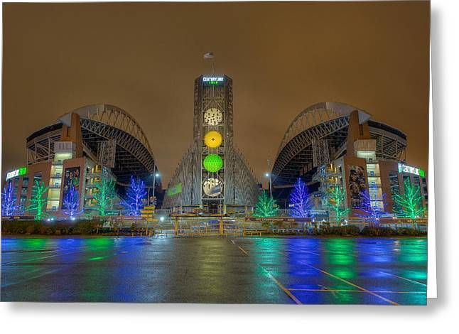 The Link Photographs Greeting Cards - The Clink Greeting Card by David Williams