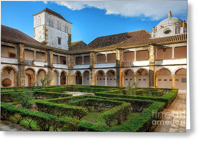 Nigel Hamer Greeting Cards - The Cloisters Revisited Greeting Card by English Landscapes