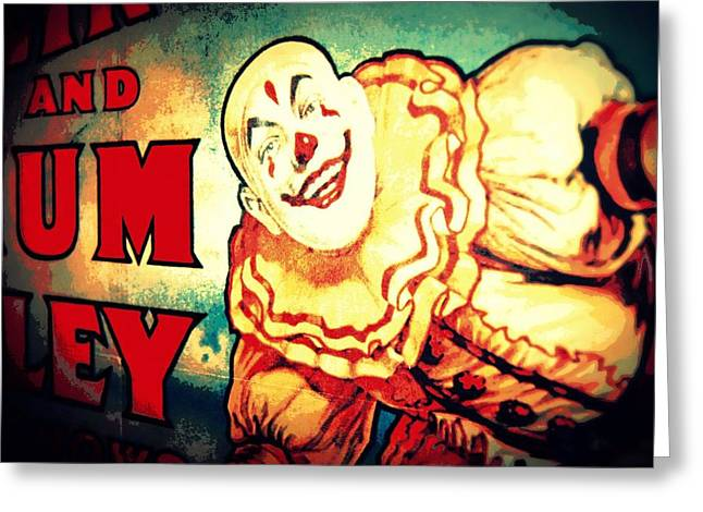 Pennywise Greeting Cards - The Clown  Greeting Card by Heart On Sleeve ART
