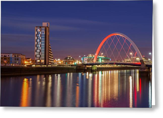 Mean Greeting Cards - The Clyde Arc  Greeting Card by John Farnan