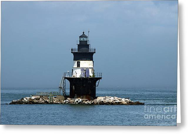 The Coffee Pot Lighthouse Greeting Card by Christiane Schulze Art And Photography