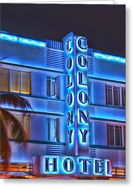 Modern Photographs Greeting Cards - The Colony Greeting Card by Carol Eade