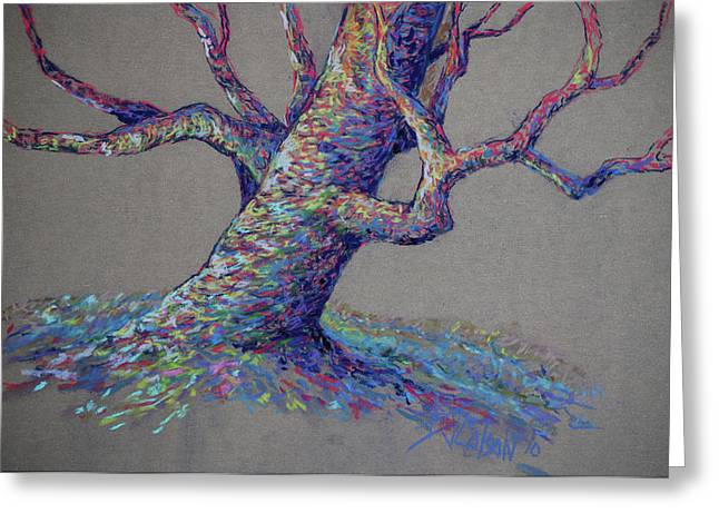 Tree Greeting Cards - The Colors of Life Greeting Card by Billie Colson