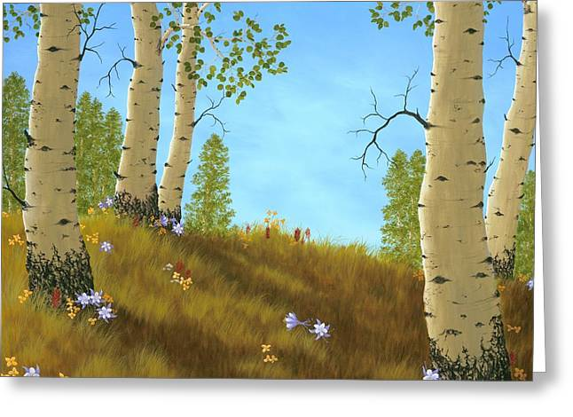 Columbine Greeting Cards - The Colors of Nature Greeting Card by Rick Bainbridge