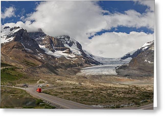 Charles Kozierok Greeting Cards - The Columbia Icefield Greeting Card by Charles Kozierok