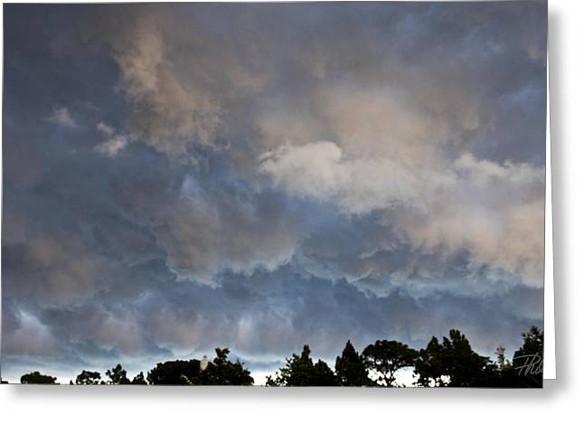 """storm Prints"" Greeting Cards - The Coming Storm Greeting Card by Phil Mancuso"