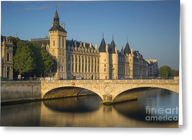 The Conciergerie - Paris Greeting Card by Brian Jannsen