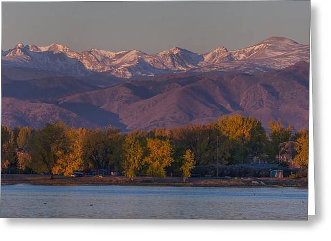 Longmont Greeting Cards - The Continental Divide Greeting Card by Aaron Spong