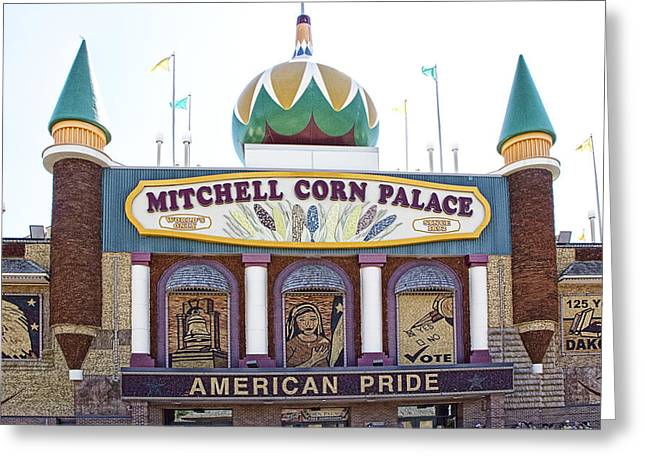 The Corn Palace In Mitchell South Dakota Greeting Card by Randall Nyhof
