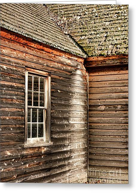 Historic Buildings Greeting Cards - The Corner Greeting Card by Olivier Le Queinec