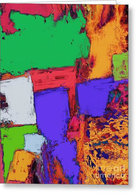 Loose Style Digital Greeting Cards - The correct place Greeting Card by Keith Mills
